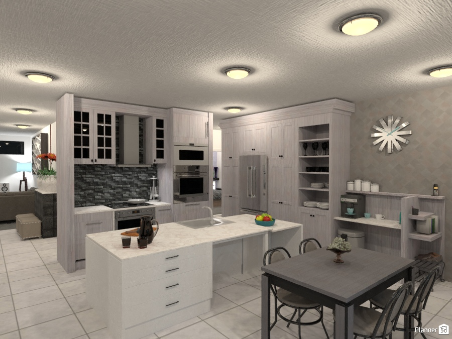 Kitchen living room ideas planner 5d for Cucina planner