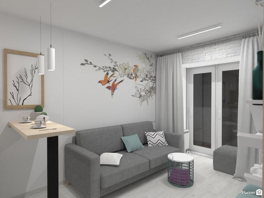 дизайн кухни студии Ideas Para Apartamentos Planner 5d