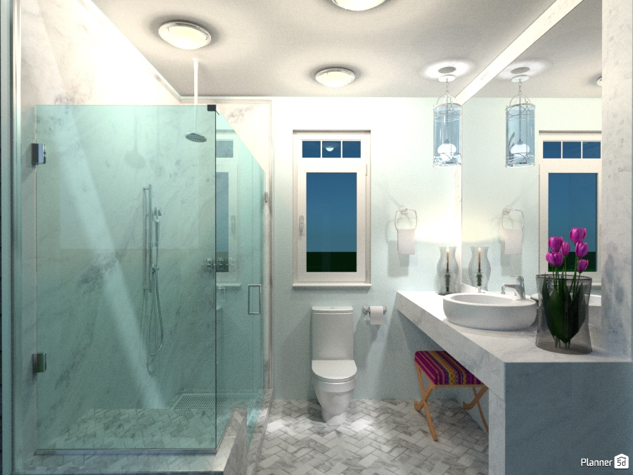 Tiny house bathroom apartment ideas planner 5d for Bathroom design 5d