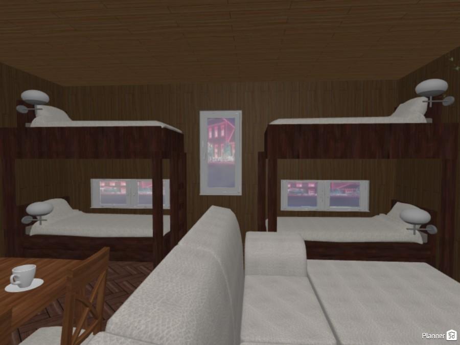 Modern, Rustic, Log cabin rental 73090 by Mailey Jackson image