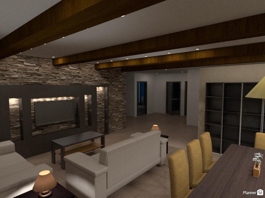 jm Salon Comedor - House ideas - Planner 5D
