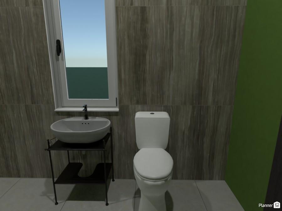 Modern/Industrial House: Bathroom 3686226 by Erin image