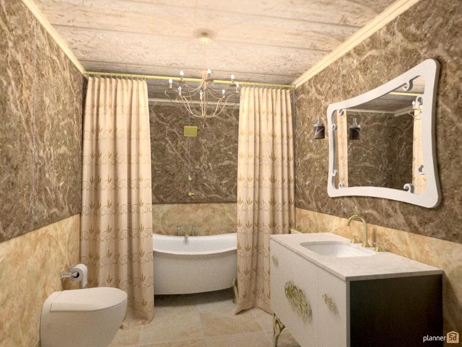 Appartamento iv bagno apartment ideas planner 5d - Planner bagno 3d ...