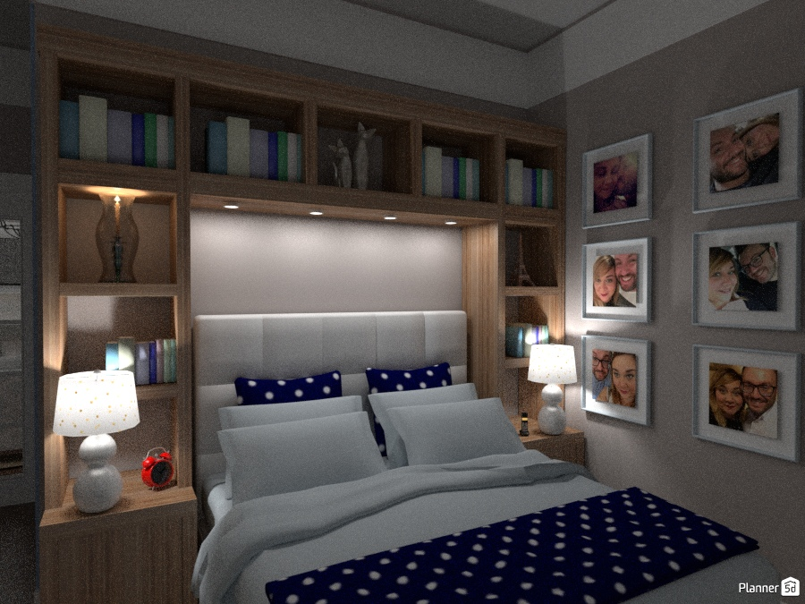 Classic chic flat master bedroom apartment ideas for Room design 5d