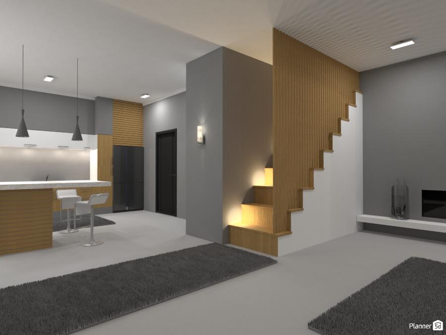 Modern apartment ideas planner 5d for Apartment terrace furniture
