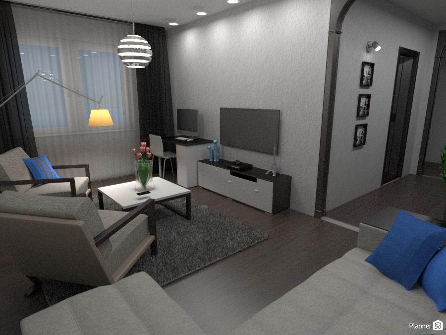Квартира общей площадью 60 м2 1797752 by Влад image