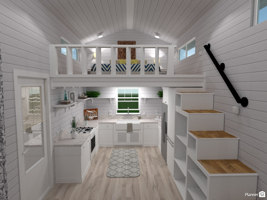 Tiny House Kitchen One House Ideas Planner 5d