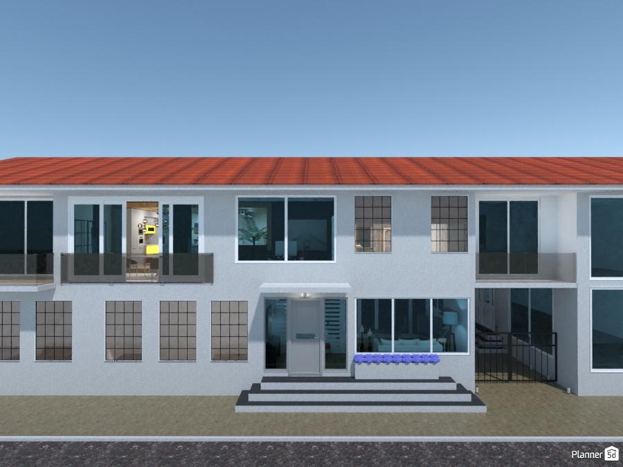 ideas apartment house outdoor lighting landscape architecture ideas
