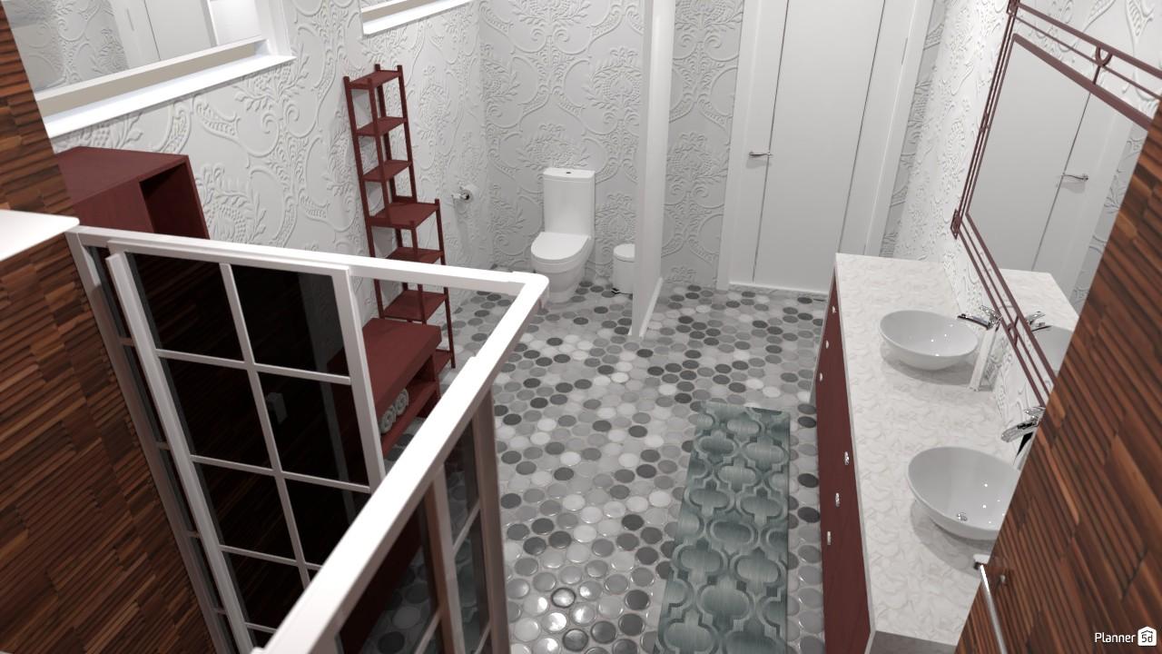 Banheiro da suite 3906154 by clei sousa image