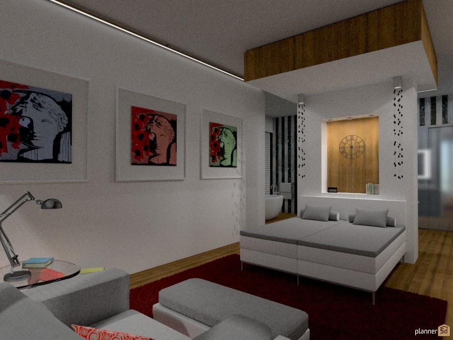 attico ( camera da letto) - Idee per appartamenti - Planner 5D