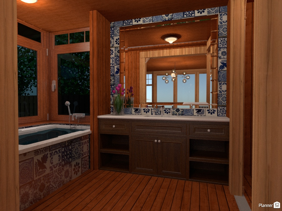 Tropical Bed and Breakfast Resort Bathroom 1868480 by Olivia11 image
