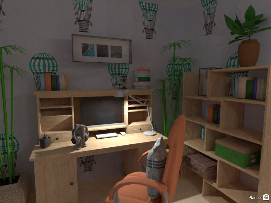 Nursery for a boy in a private house 2963652 by Alena Arkhipenko image