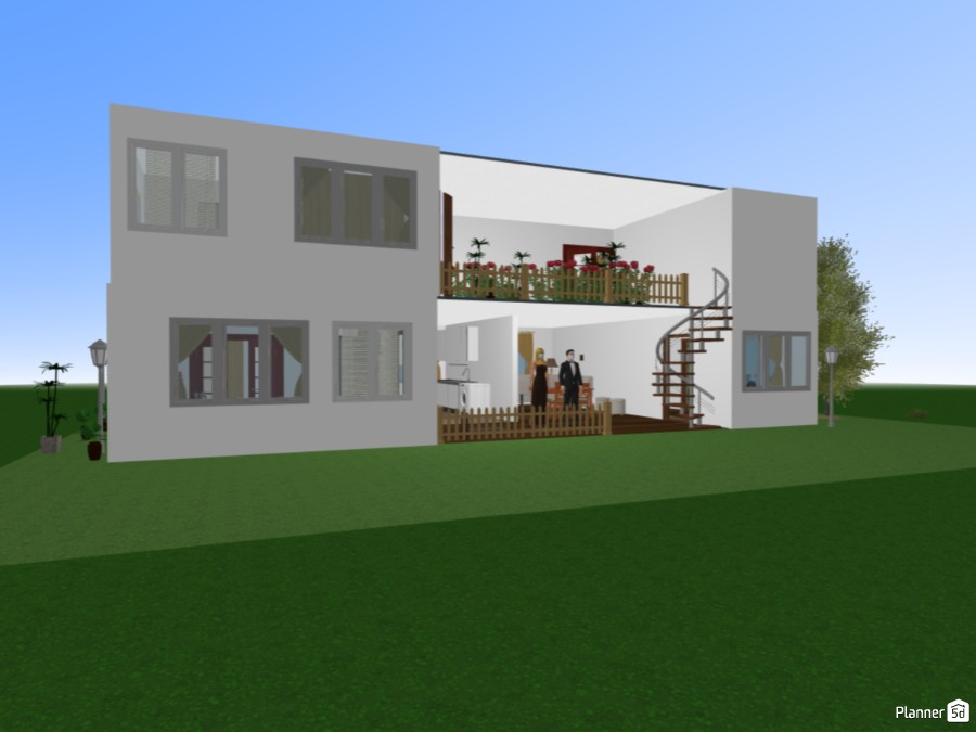 My Double Story House 82579 by Aashi image