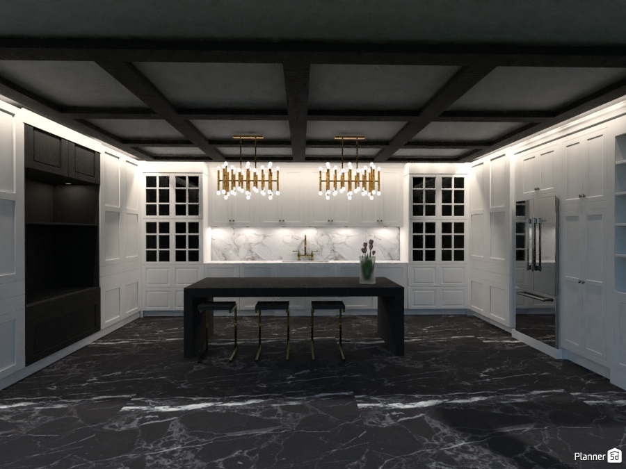 Modern Classic Kitchen 2786644 by Arni image