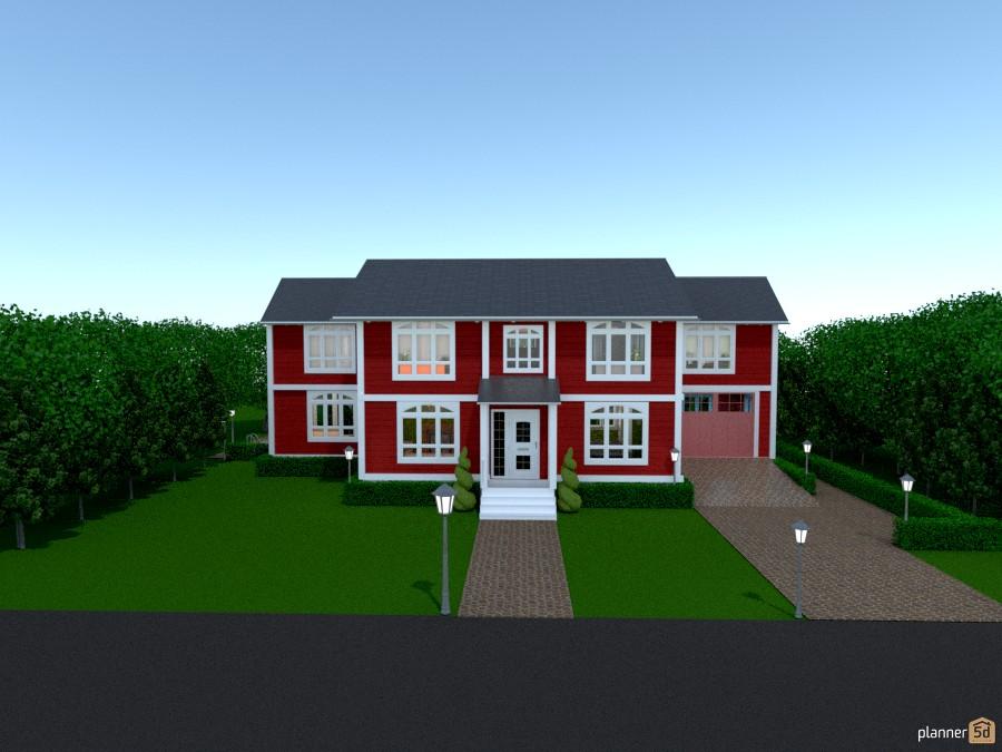 Farm House 556371 by Home Designer image