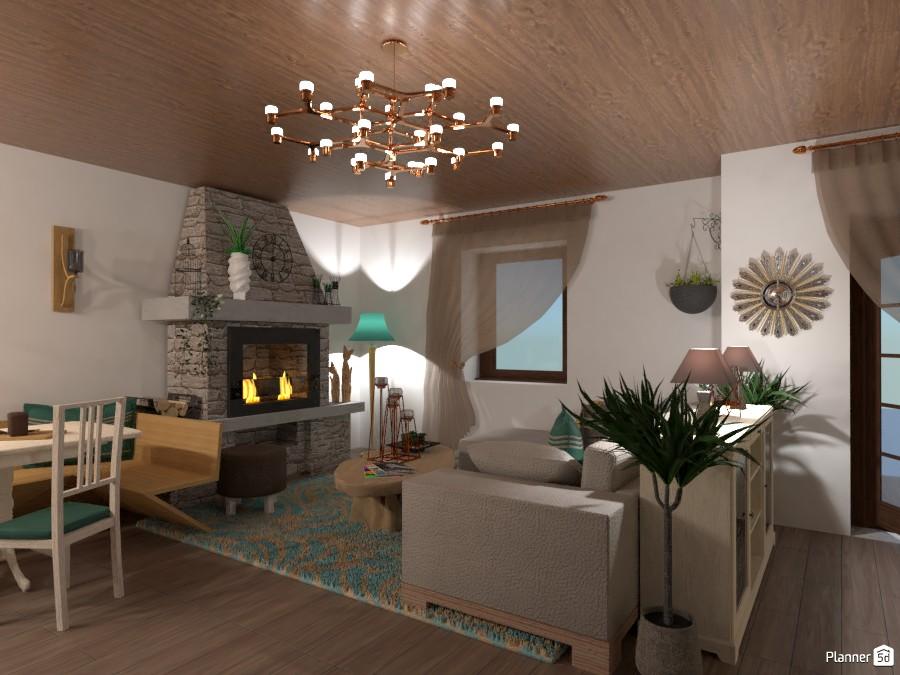 Soggiorno casa di montagna 3866465 by Yumi image