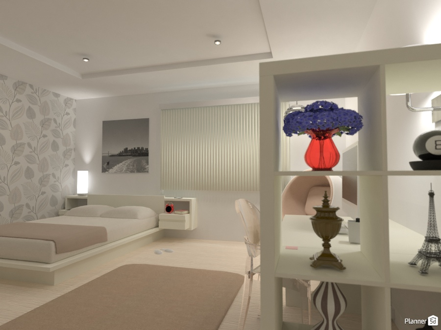 Bedroom - Idee per appartamenti - Planner 5D