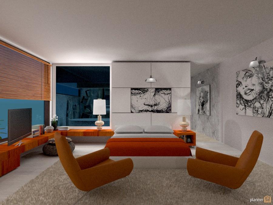 Appartamento vista mare: Camera da letto con bagno 1025477 by Micaela Maccaferri image