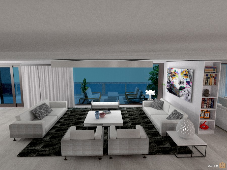 Appartamento vista mare: Living #1 1025572 by Micaela Maccaferri image