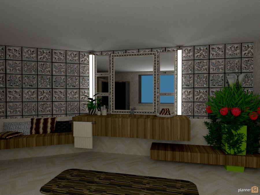 Appartamento vista mare: Bagno 1027217 by Micaela Maccaferri image