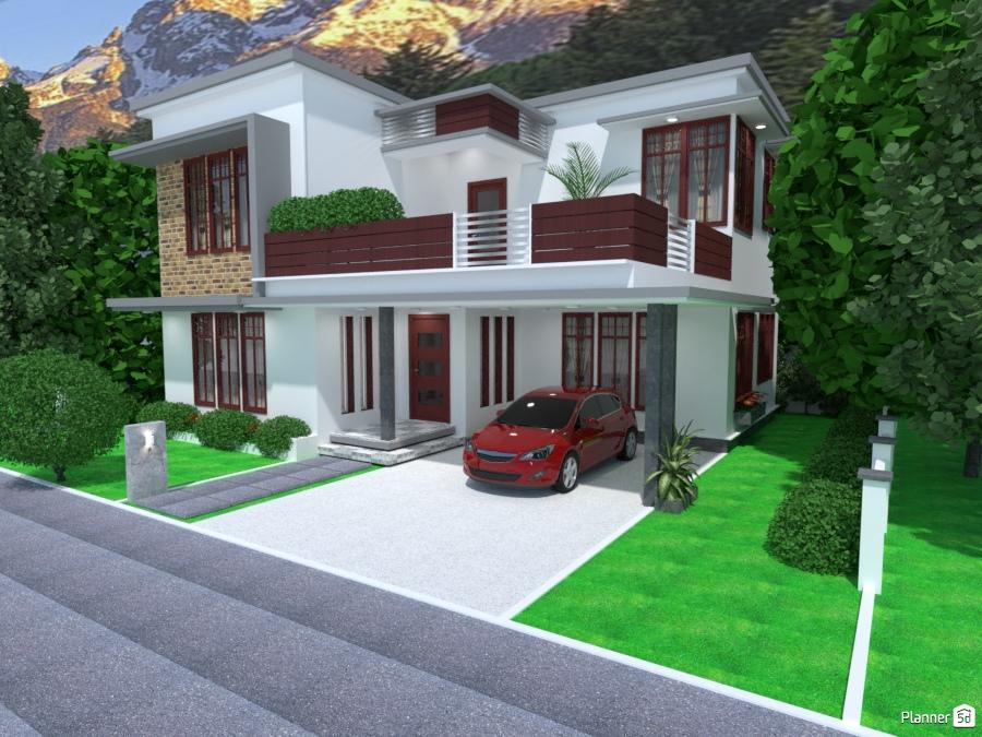 Casa Moderna Xiii Ideas Para Casas Planner 5d