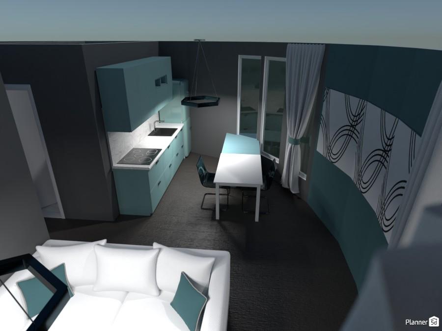 Cocina y salón. 3905401 by Laura image