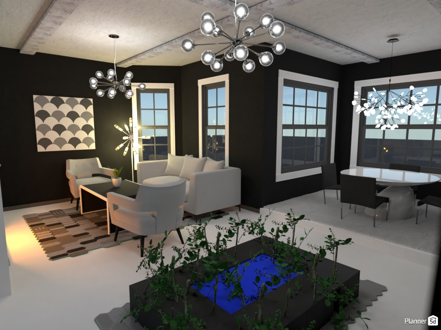 Dining and living room 3762405 by Nikolas image