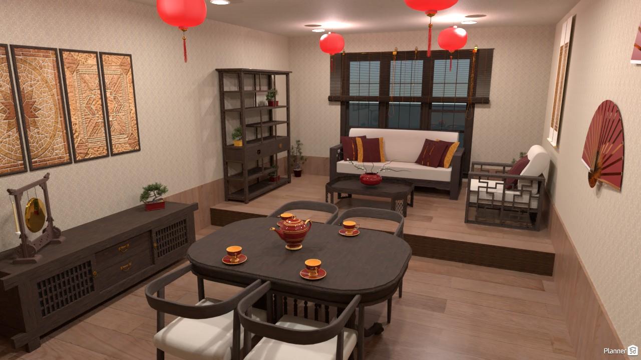 Estilo interior chino. 4000390 by Hall Pat image