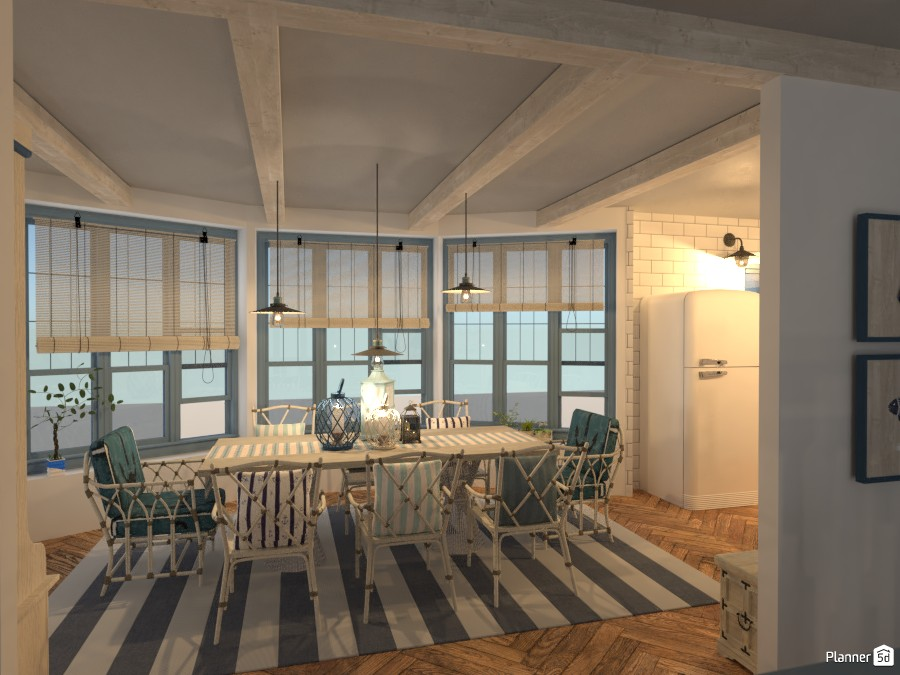 East Coast: Dining Room 3415173 by Micaela Maccaferri image