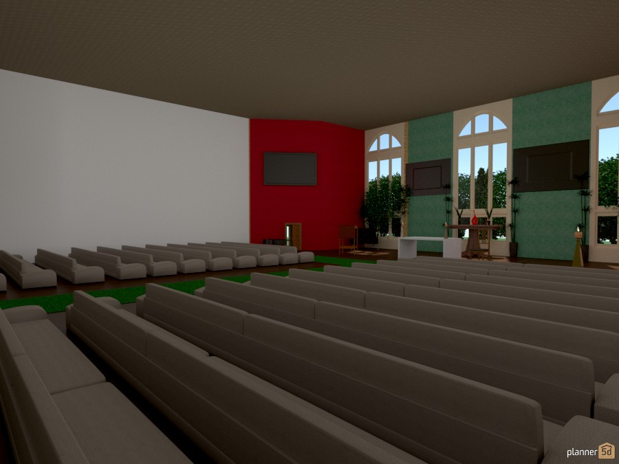 Church Free Online Design 3d House Ideas Anonymous By Planner 5d