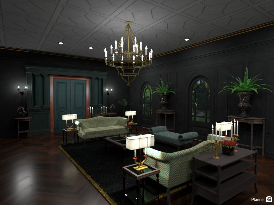 Formal Room (Green) 3865578 by DesignKing image