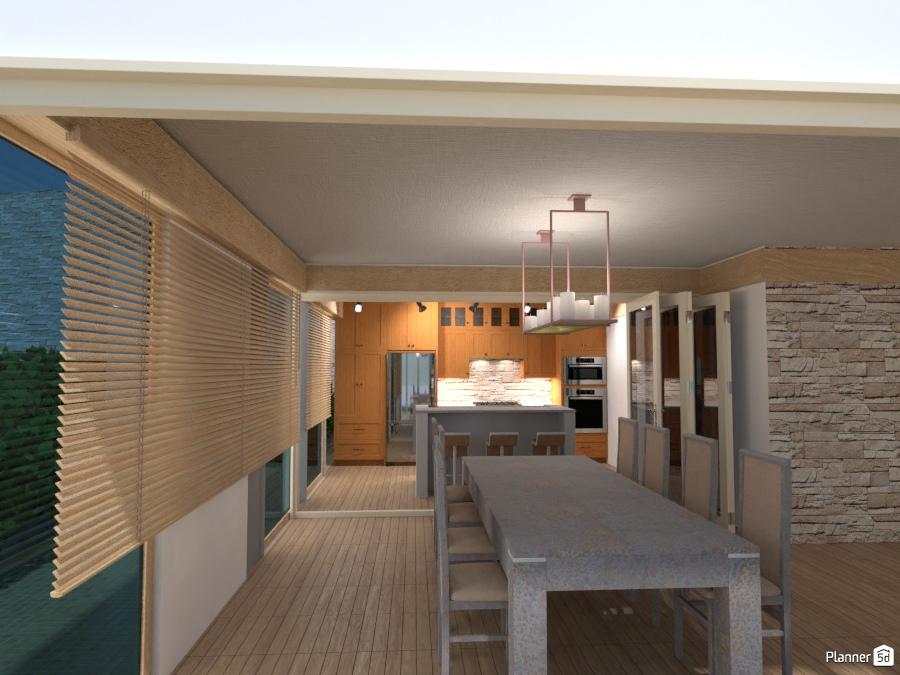 open floor plan of the modern house 2357850 by Galina Pisemskaya image