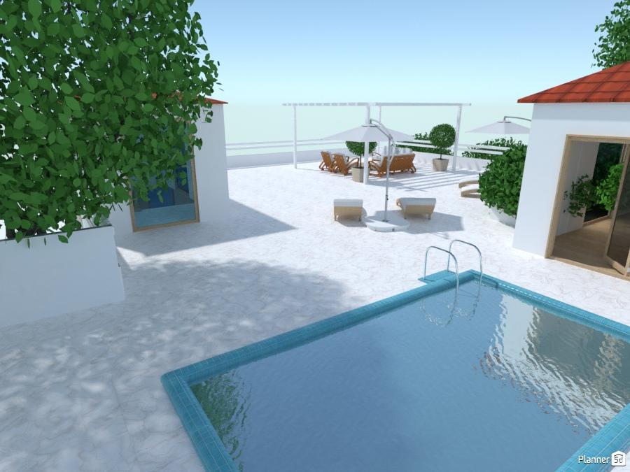 Modern house patio 2358835 by Galina Pisemskaya image