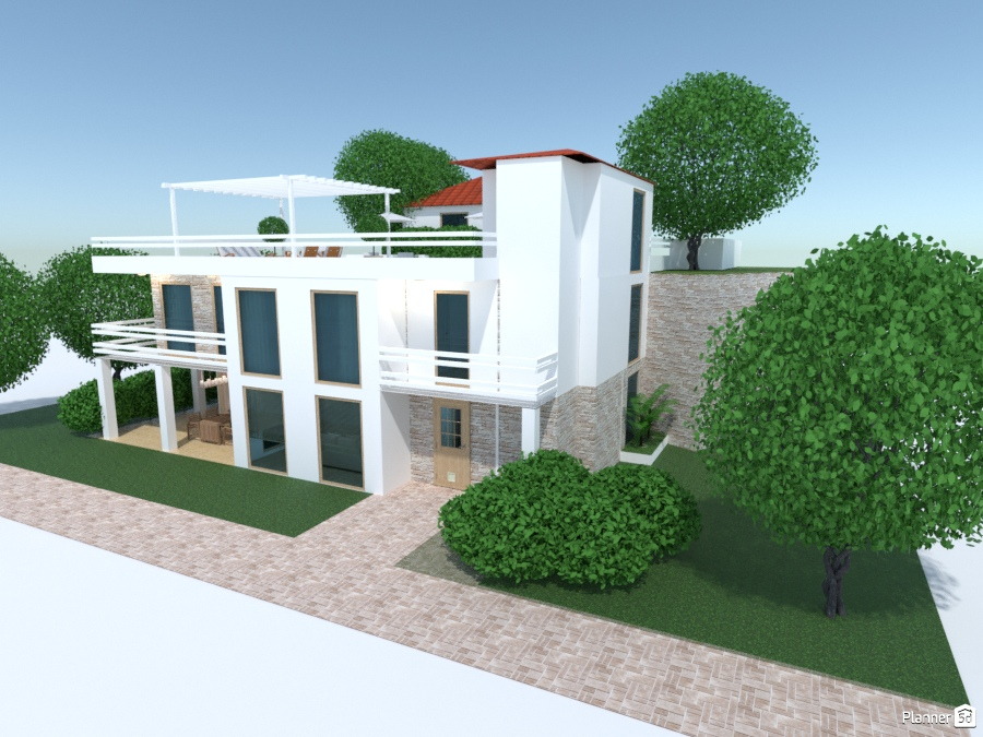 Modern house 2358837 by Galina Pisemskaya image