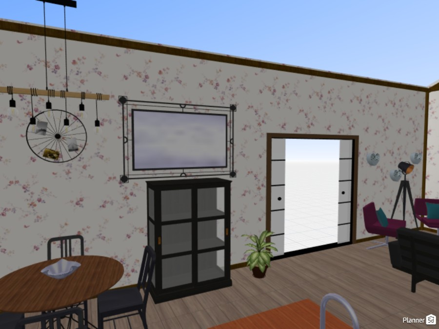 Kitchen with livingroom 81934 by SylegnA image