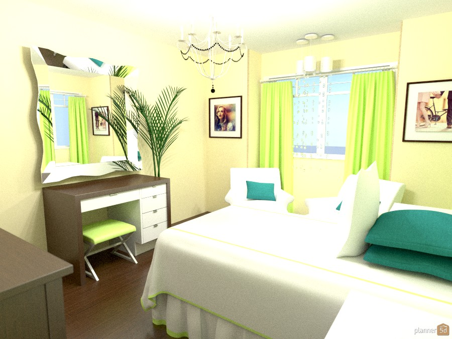 Simple Bedroom 528995 by Yasmine Rocha image