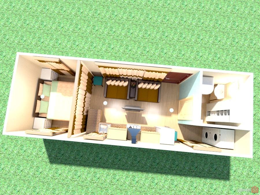 10' x 30' Train Car Home - Apartment ideas - Planner 5D Rail Car Home Designs on cardboard box home designs, container home designs, carriage home designs, train car home designs, rail car dock designs,
