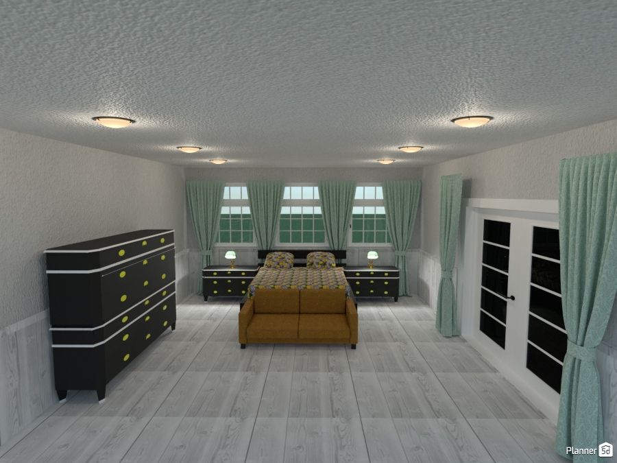 bedroom with outside double doors 74879 by Joy Suiter image