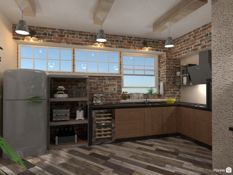 Industrial Point Kitchen One 2257609 by Fede Lars image