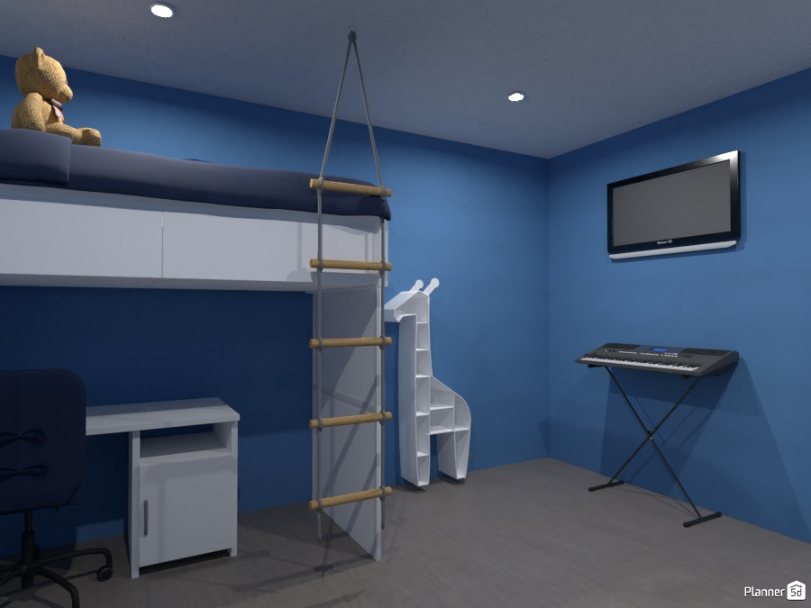 boys bedroom render 3 4040592 by Doggy image