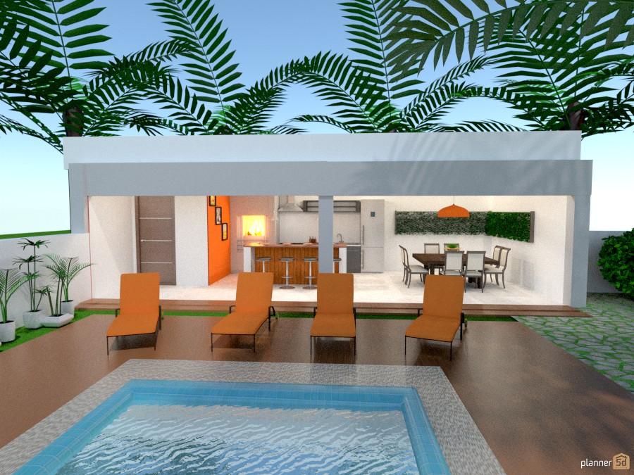 Casa de Verão com Edícula. 528648 by Michelle Silva image