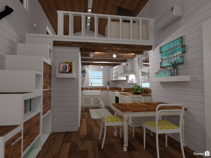 Casas De Muebles De Bano.New Tiny House 3 Ideas Para Casas Planner 5d