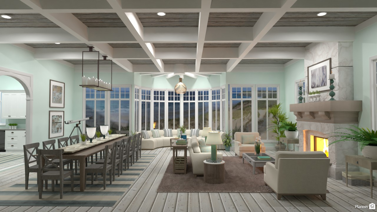 Beach House Great Room Angle 4 3894419 by DesignKing image
