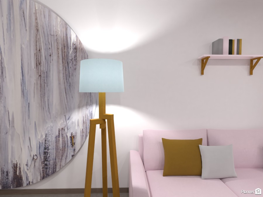 Modern Pastel Living Space 3605618 by Interior Designsss image