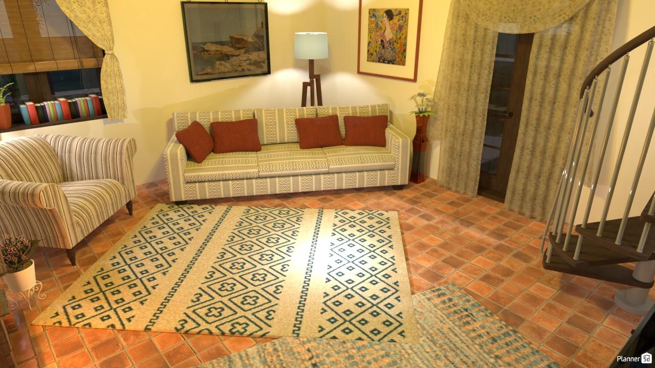 Italian Living Room 4166794 by Megan H image