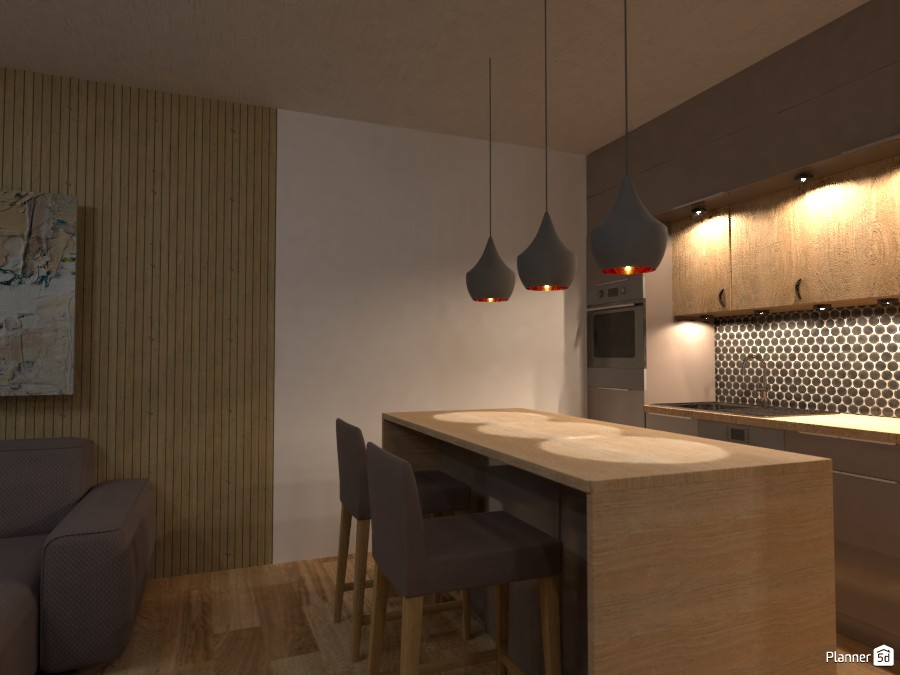 Кухня-гостинная 3431629 by Светла Горбунова image
