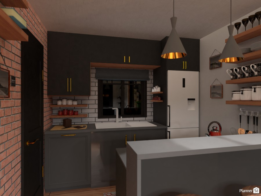 Kitchen Free Online Design 3d House Ideas Anonymous By Planner 5d