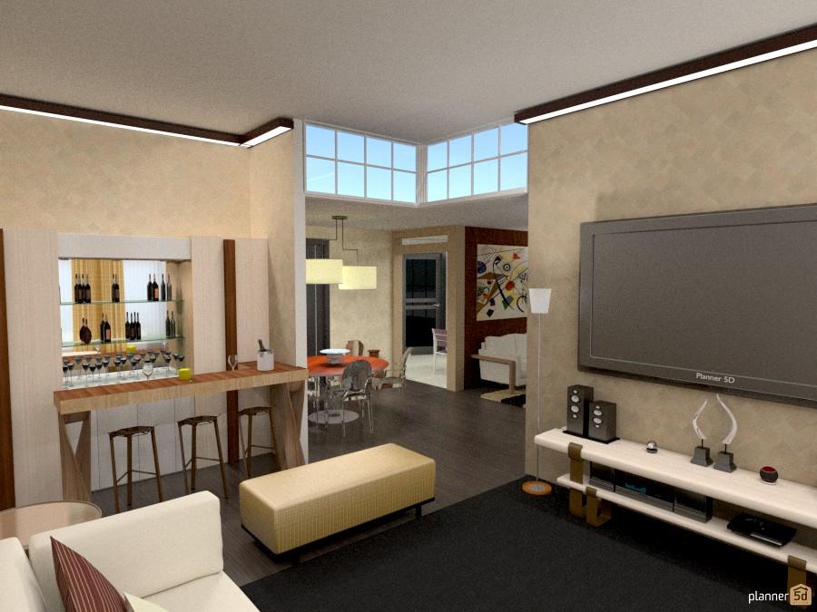 Living room house ideas planner 5d for Fotos muebles de living comedor