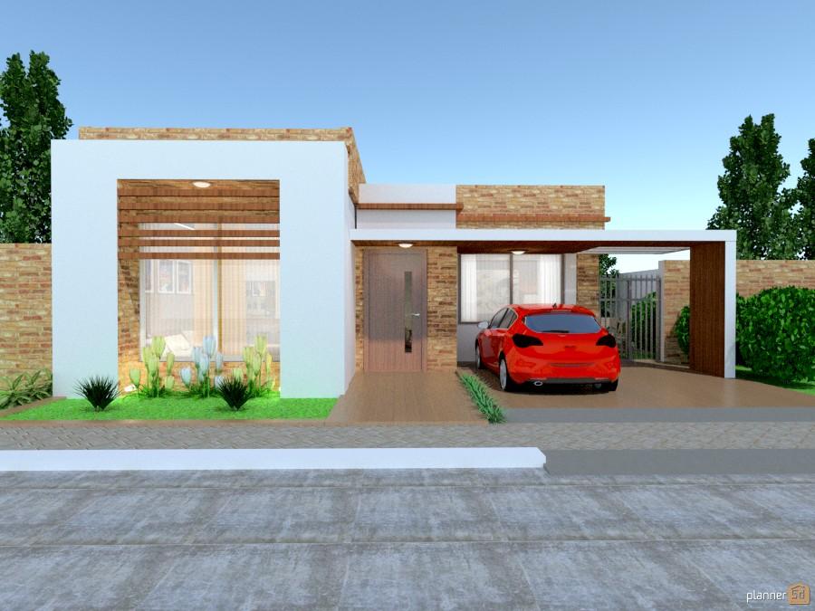 Median house house ideas planner 5d - Diseno de garajes ...