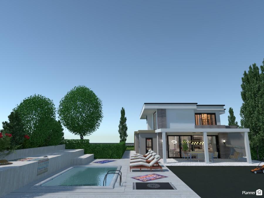 Villa April 2020: Pool 3276466 by Micaela Maccaferri image